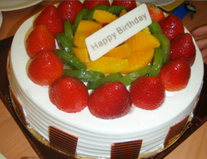 Carson's Birthday Cake